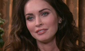 Megan Fox squirms as Steve Jones quizzes her on rife pregnancy rumours