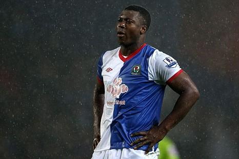 Blackburn Rovers' Yakubu