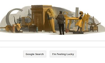 Tutankhamun archaeologist Howard Carter honoured with a Google Doodle