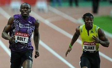 World champion Yohan Blake ups the stakes in sprint battle with Usain Bolt