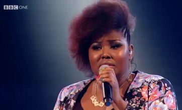 Ruth Brown sends crowd wild with The Voice performance of Next To Me