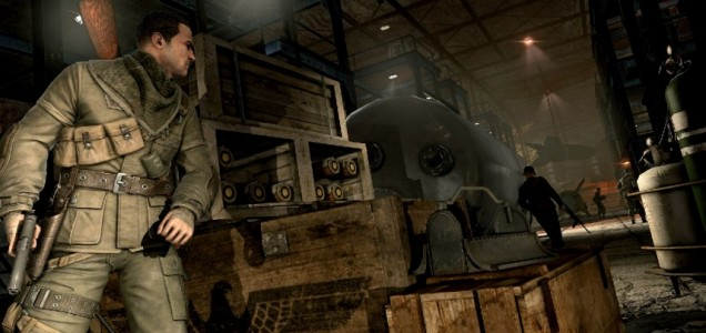 Sniper Elite V2 - making a nest at the top of the charts