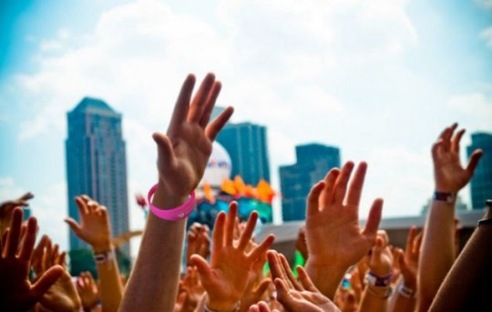 Wireless Festival, contactless payment,