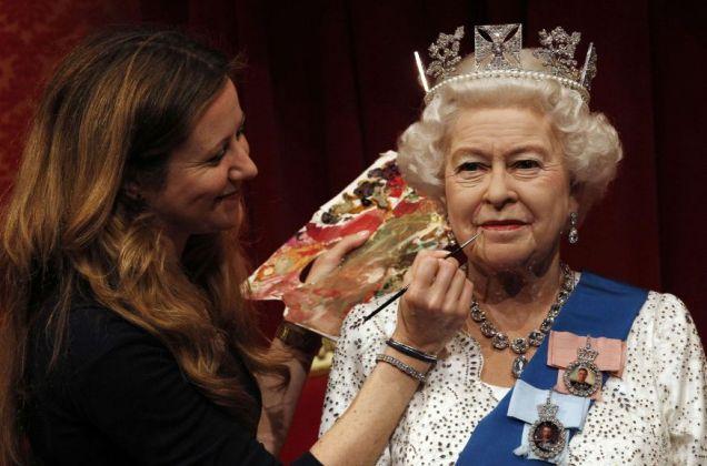 Queen, Madame Tussauds