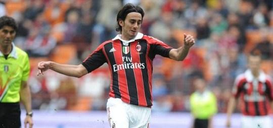 AC Milan's Alberto Aquilani