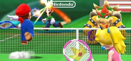 Mario Tennis Open (3DS) - you cannot be serious