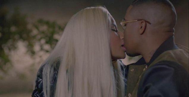 Nicki Minaj, Right By My Side video, Nas, Chris Brown