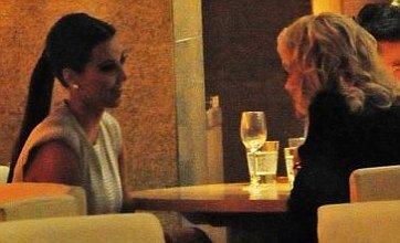 Kim Kardashian and Kanye West join Rita Ora and Rob Kardashian at dinner
