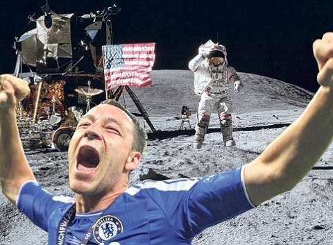 Pictures: John Terry Celebrates Champions league win viral