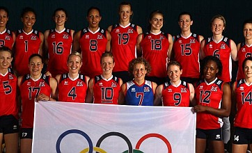 Firemen come to the rescue for GB women's volleyball team