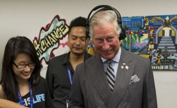 Prince Charles swaps weather presenting for DJ-ing on Canada visit