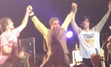 Stone Roses make epic comeback as they play first gig in 16 years
