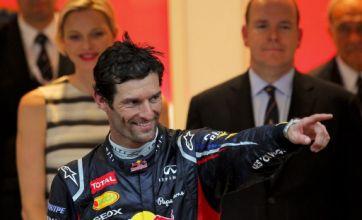 Mark Webber wins dramatic Monaco Grand Prix as history made on podium