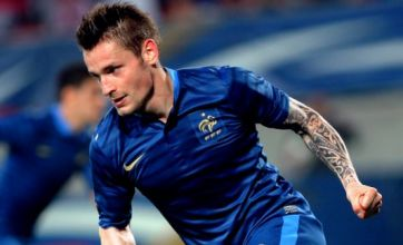 Newcastle scout Lille's Mathieu Debuchy in action for France
