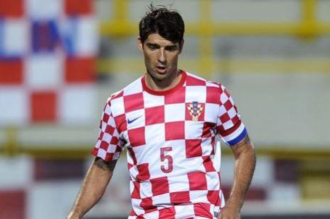 Croatian defender Vedran Corluka, Dynamo Kiev.