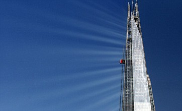 The Shard becomes glittering beacon of light in the sunshine