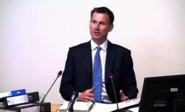 Jeremy Hunt lives to fight another day after Leveson evidence