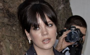 Lily Allen tames wild side as she quits showbiz party to watch TV at home