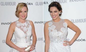 Kelly Brook v Amanda Holden at the Glamour Awards: Hot or Not?