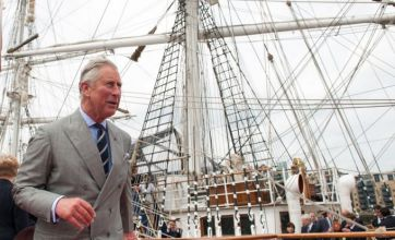 Prince Charles inspects royal barge ahead of diamond jubilee pageant