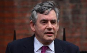 Gordon Brown insisted he did not call Rupert Murdoch (AFP/Getty Images)