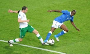 Mario Balotelli has impressed Gary Neville at Euro 2012 (PA)
