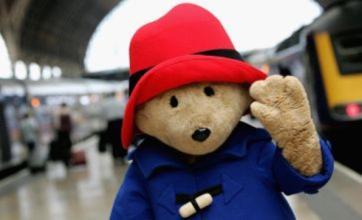 Paddington Bear arrives in London in new film poster