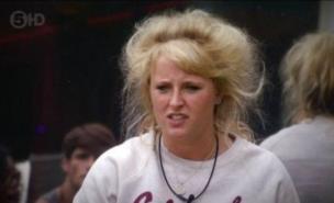Big Brother's Caroline apologised for describing Adam as a gorilla (Channel 5)