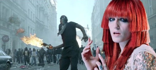 Jay-Z and Kanye West, Florence + The Machine