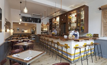 The wine list is sharp and the food is good at the Bistro Union in Clapham