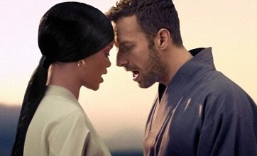 Coldplay's Chris Martin and Rihanna battle in new Princess of China video