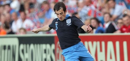 England's Leighton Baines