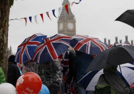 Diamon Jubilee, UK weather