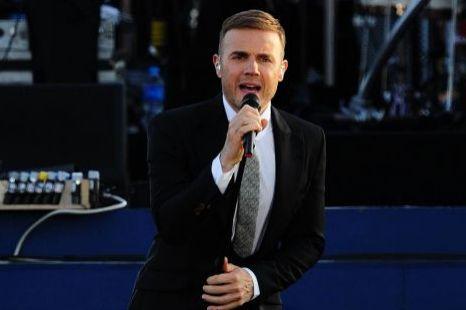 Gary Barlow  diamond jubilee concert