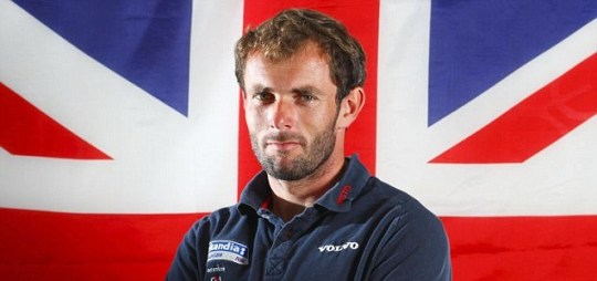 British Olympic RS:X sailor Nick Dempsey