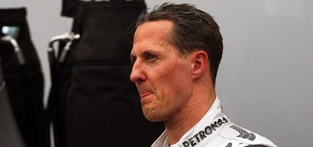 Michael Schumacher of Mercedes AMG