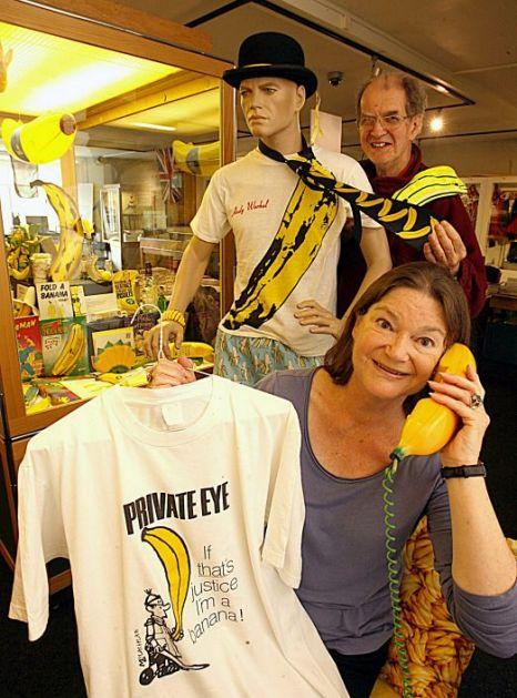 Elisabeth Balfour, Douglas  Learmond, banana