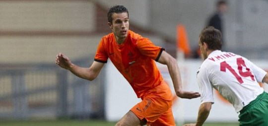 Robin van Persie of the Netherlands