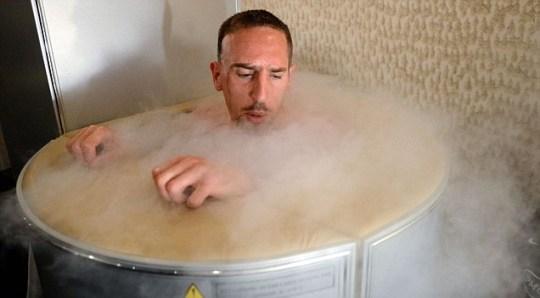 France's national football team midfielder Franck Ribery