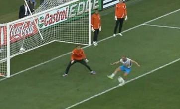 Wesley Sneijder scores brilliant flick backheel goal in Holland training: Video