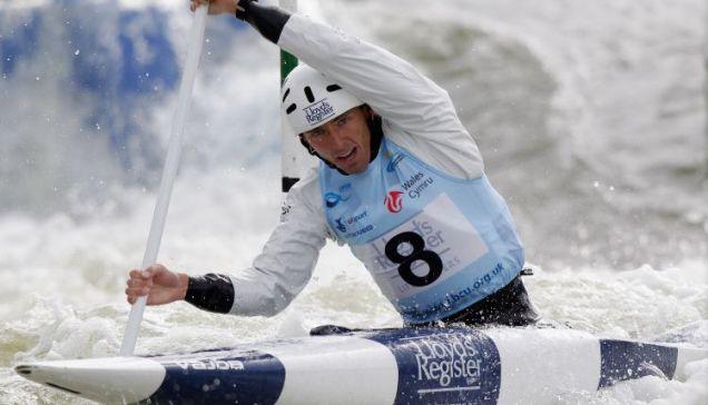 David Florence Canoe Slalom World Cup gold