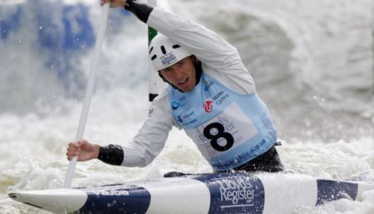 David Florence Canoe Slalom World Cup gold