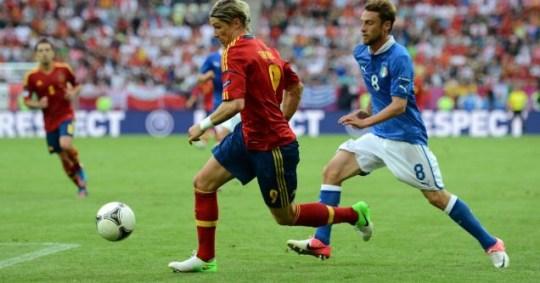 Fernando Torres match Spain Euro 2012 Italy