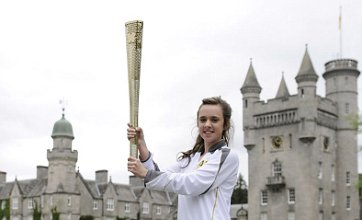 Olympic Torch relay reaches Balmoral Castle as Scottish journey continues