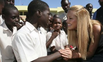 Supermodel Petra Nemcova named as goodwill ambassador for Haiti