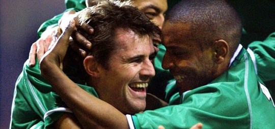 Irelands Kevin Kilbane