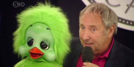 Keith Harris and Orville on Big Brother