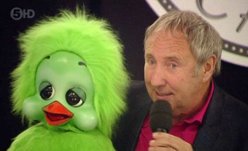 Keith Harris and Orville enter Big Brother house for laughter task