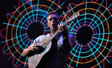 Chris Martin: Coldplay tour is smaller as we can't compete with Take That