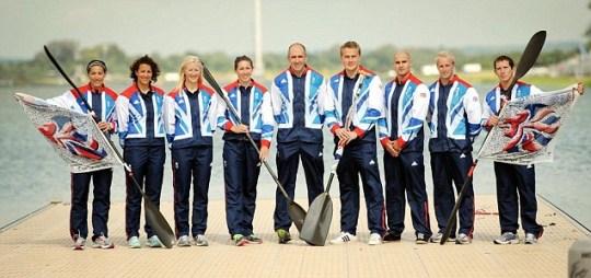 London 2012 Olympics canoe sprint